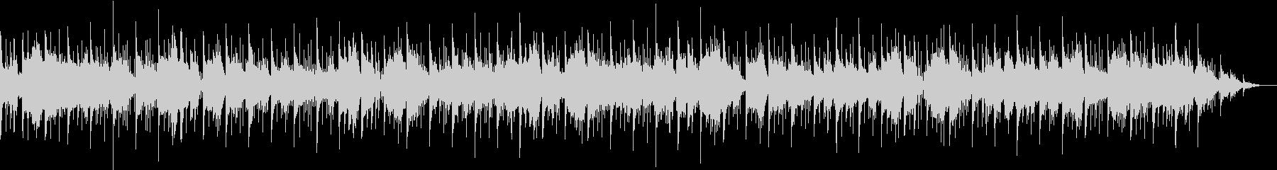 カノンコードとアルペジエーターを使った曲の未再生の波形