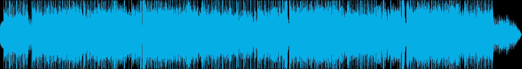 和風テイストなロックバラードの再生済みの波形