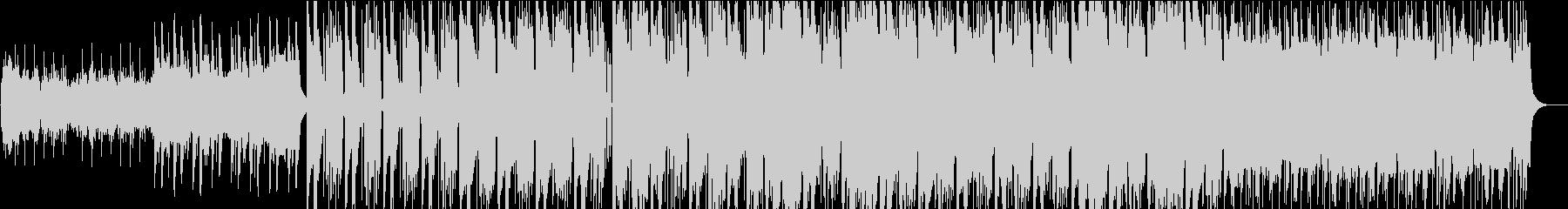 空撮映像などに合う重厚でクールなBGMの未再生の波形