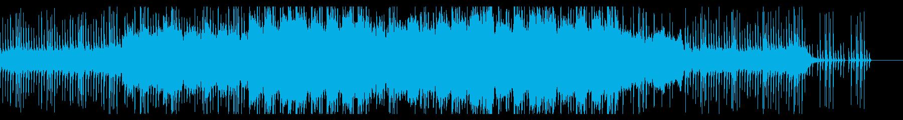 切ない尺八のメロディーの和風曲の再生済みの波形