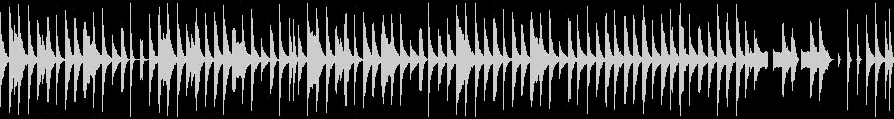 【ループ再生】コミカル・おっとり系BGMの未再生の波形
