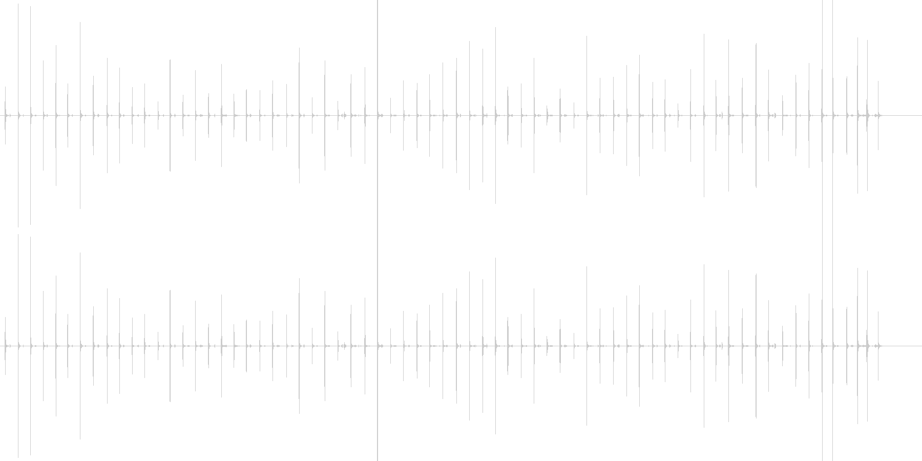 足音 男/歩く1下駄+コンクリートの未再生の波形