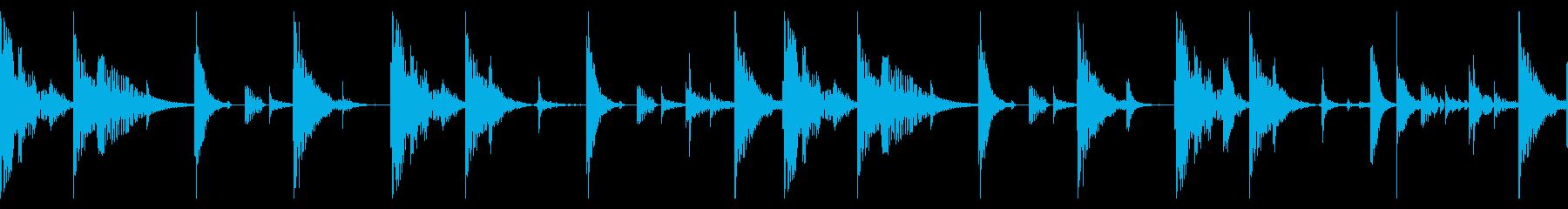 60 BPMの再生済みの波形