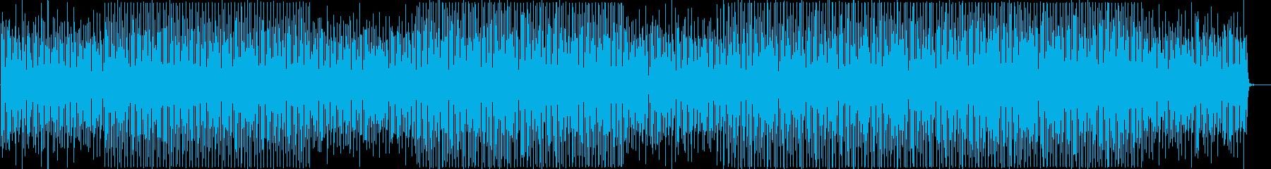 企業VPに!シンプルでモダンな楽曲の再生済みの波形