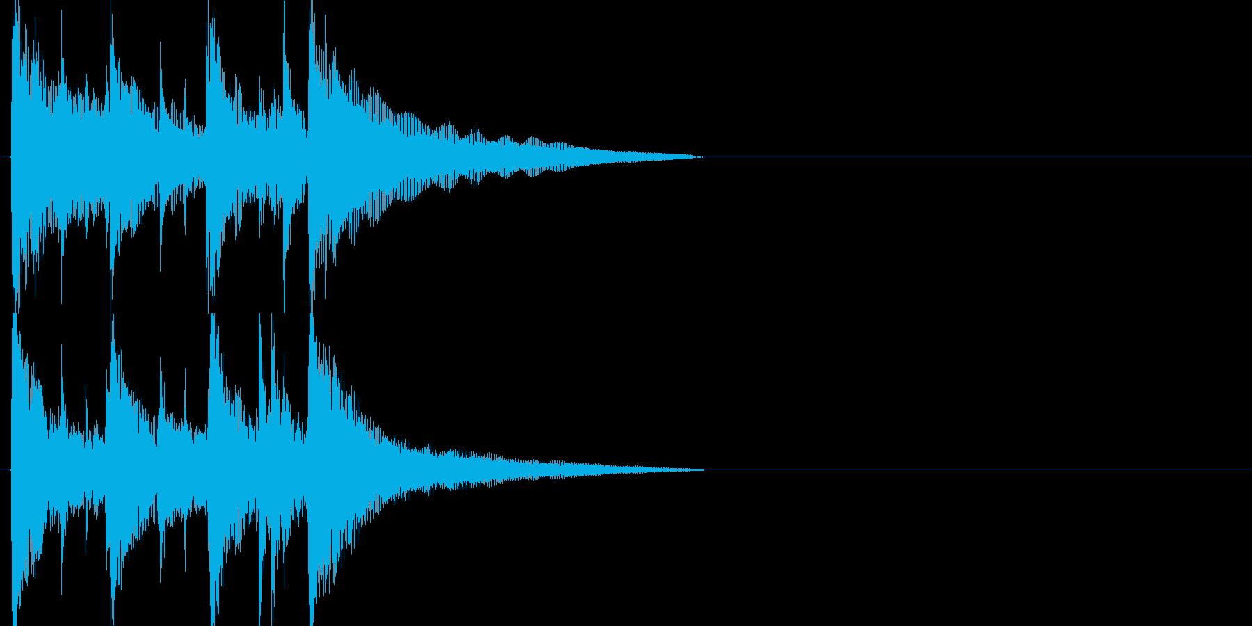 ジャズ、フュージョンジングルの再生済みの波形