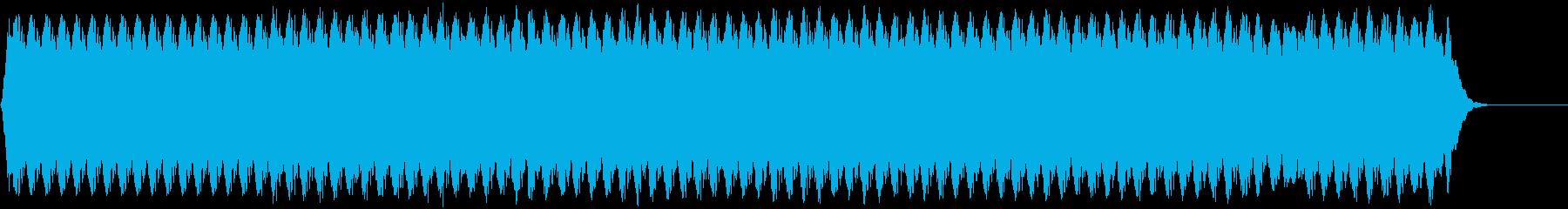 ミディアムパルスミッドドローンパルスの再生済みの波形