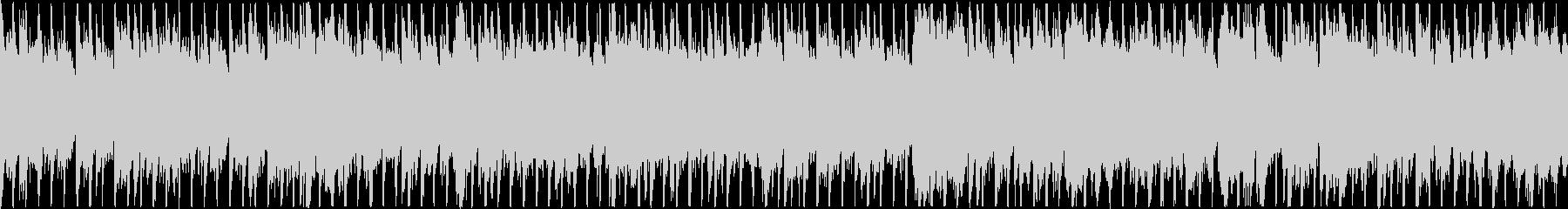 ピアノの旋律が印象的なオーケストラベースの未再生の波形