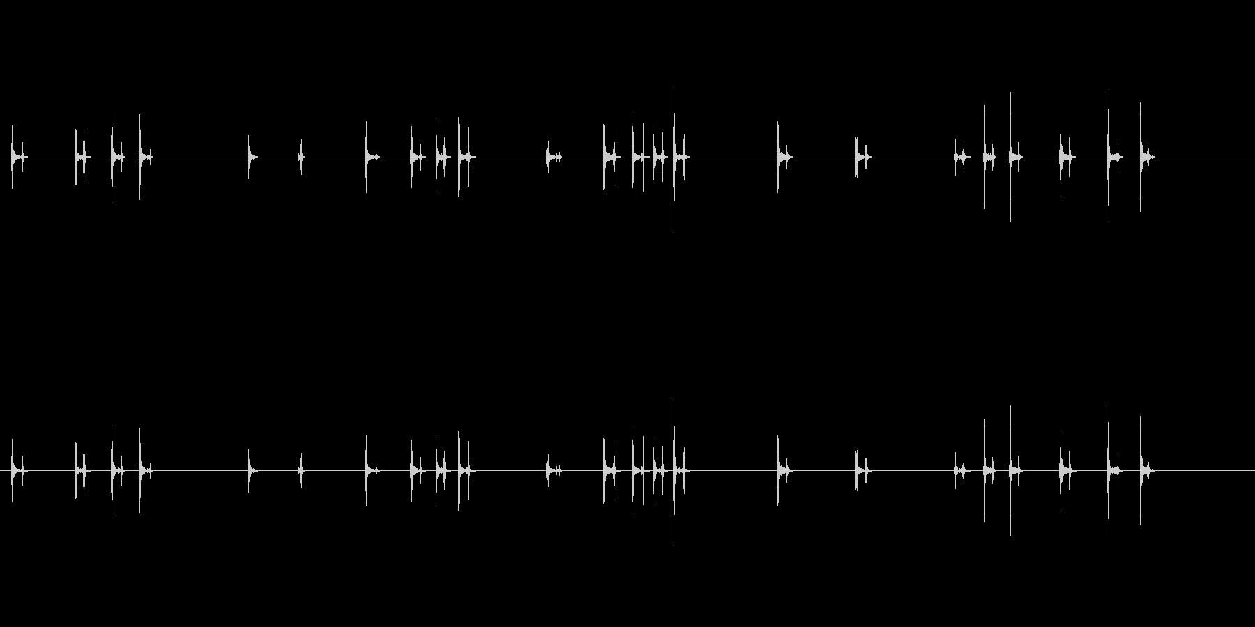 PC キーボード05-07(方向)の未再生の波形