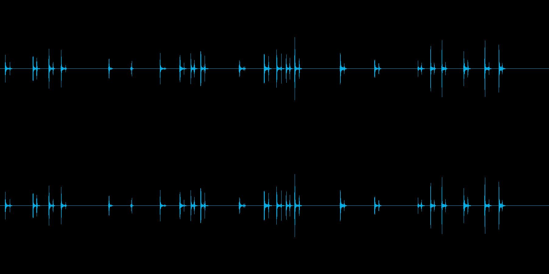 PC キーボード05-07(方向)の再生済みの波形
