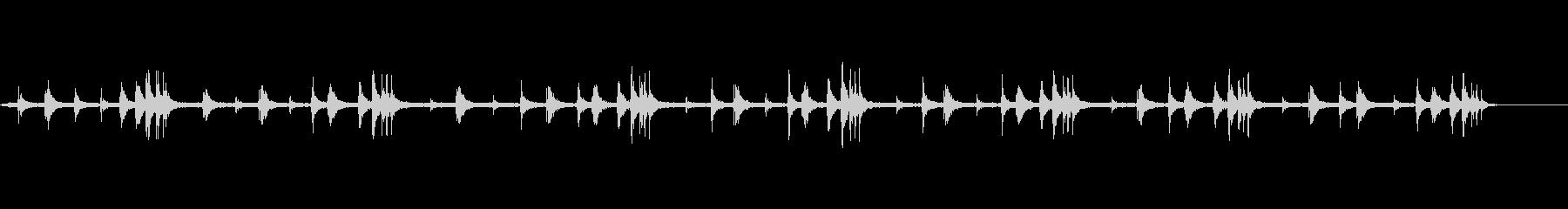 鳥の鳴き声【朝の公園】の未再生の波形