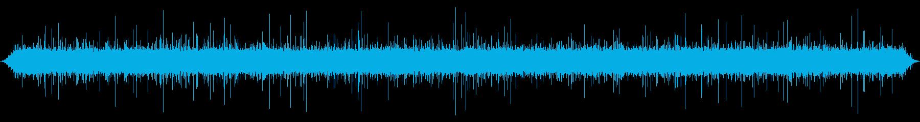 小川または小川:速い流れ、中程度の...の再生済みの波形