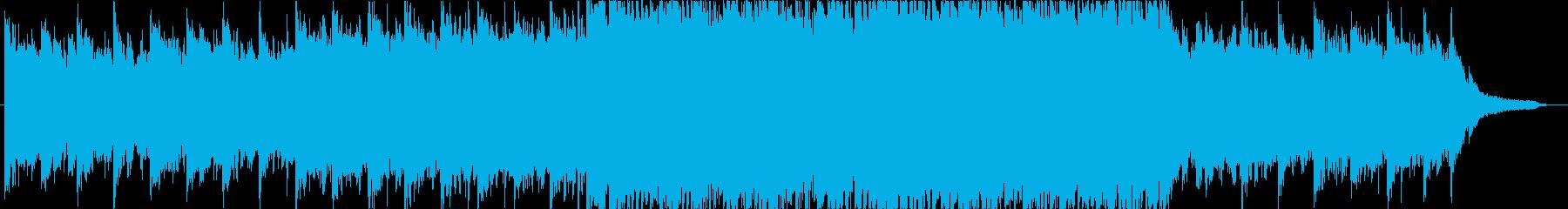 【BGM】和風なFuturepopの再生済みの波形