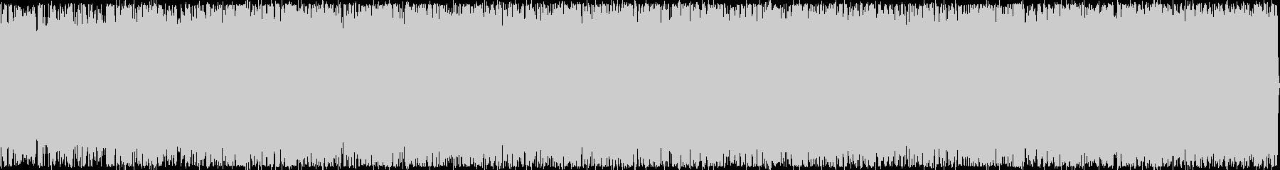 虫の声と琴の音色が18分の未再生の波形
