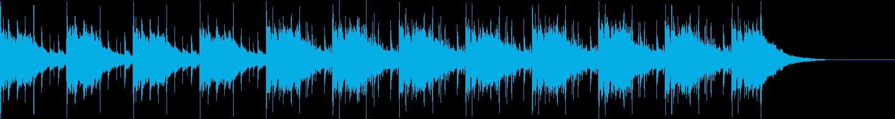 Pf「焦燥」和風現代ジャズの再生済みの波形
