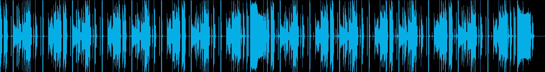 会話シーン・ほのぼの・日常・アニメの再生済みの波形