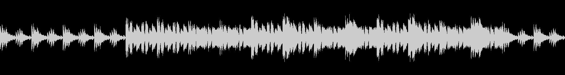 印象的なリズム刻みな曲の未再生の波形