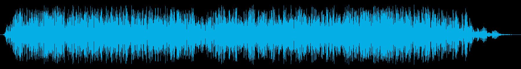 大規模な獣の鳴き声クリーチャーのう...の再生済みの波形