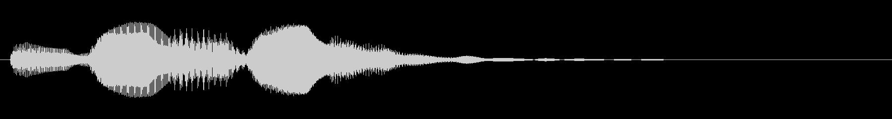 KANTアイキャッチ55電子音の未再生の波形