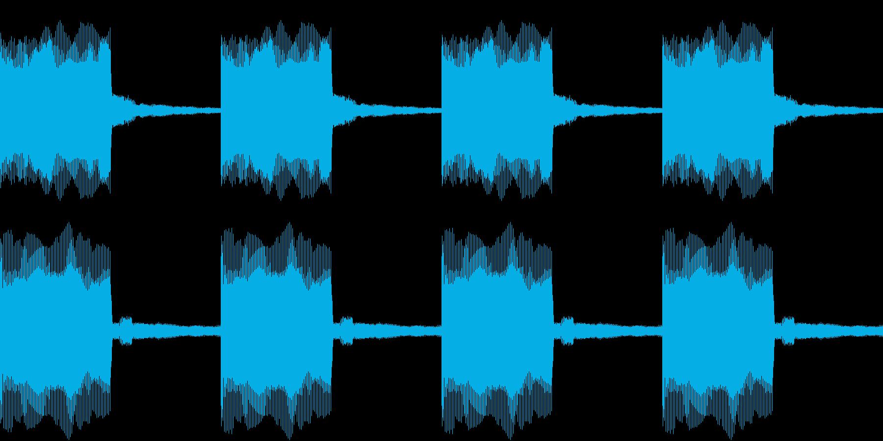 Buzzer アトラクション ブザー 3の再生済みの波形