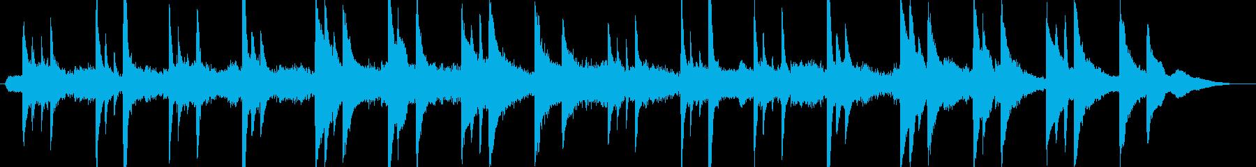 シネマティック美しい神秘的なピアノソロの再生済みの波形