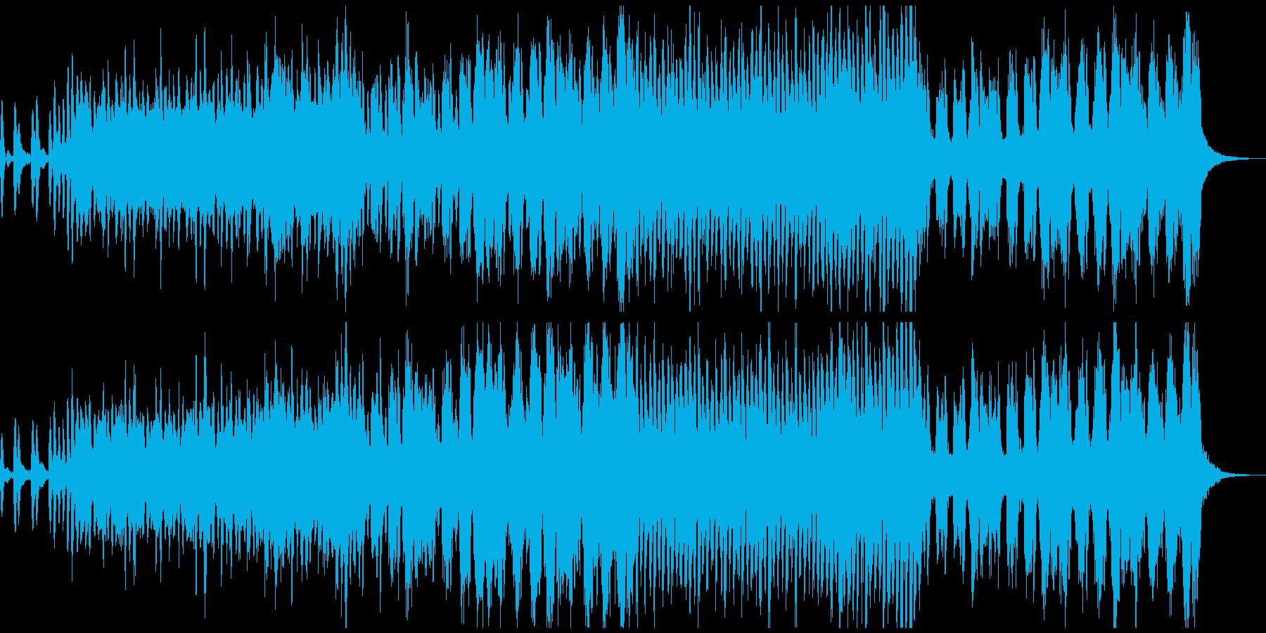 素直でエモーショナルなバイオリン曲の再生済みの波形