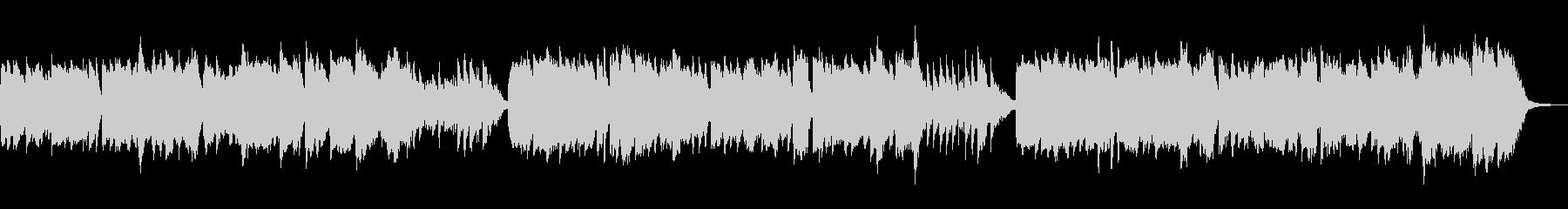 尺八と琴の「うれしいひなまつり」の未再生の波形