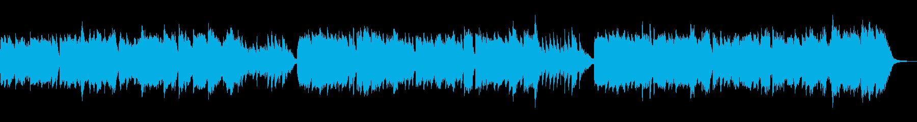 尺八と琴の「うれしいひなまつり」の再生済みの波形