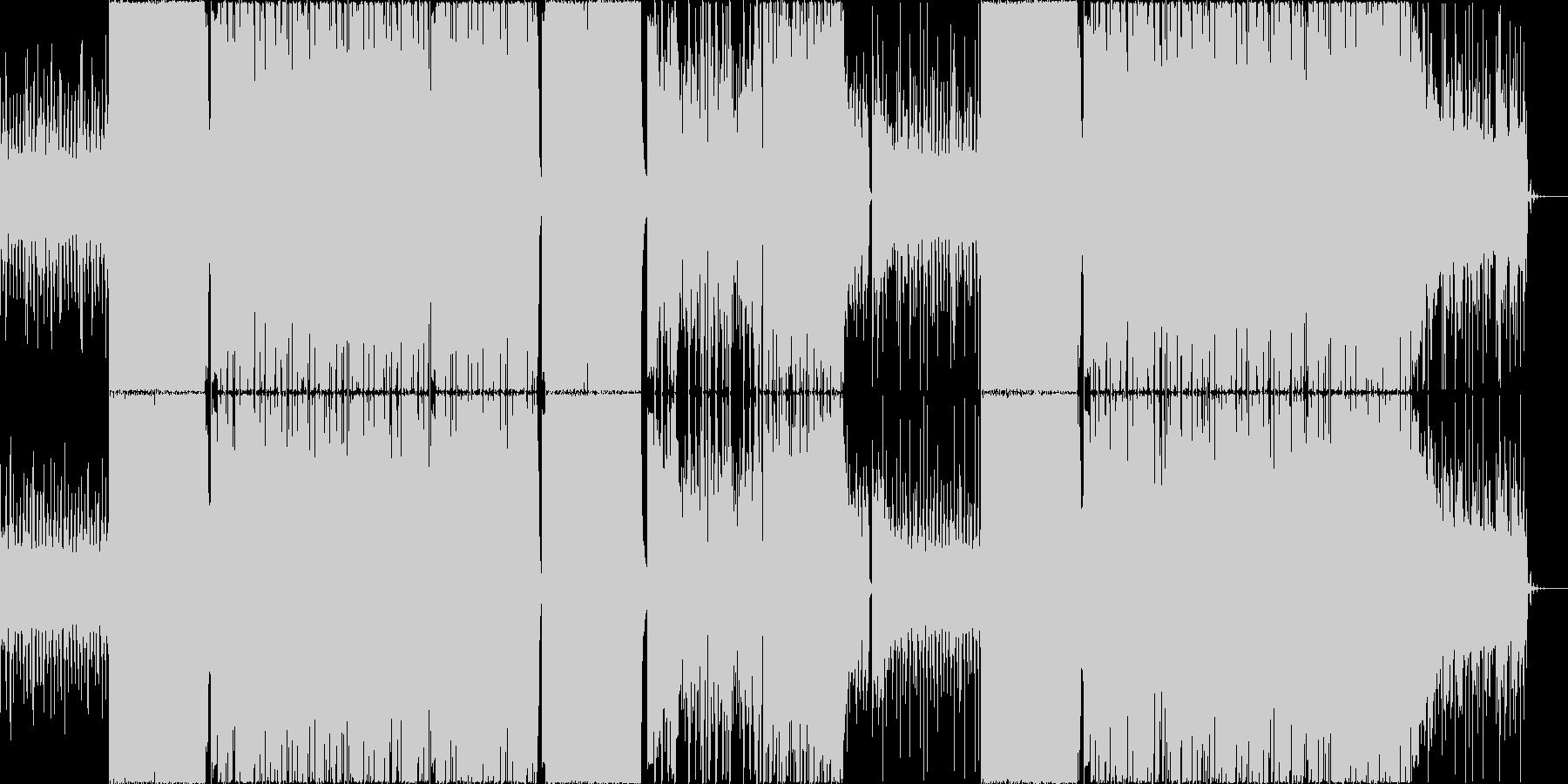 EDM TRAP 煌びやか 幻想的 魅惑の未再生の波形