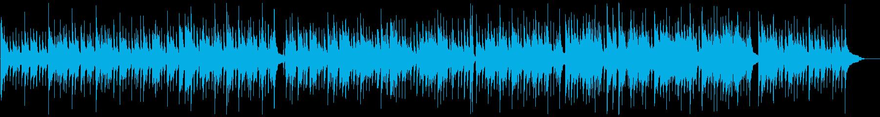バーカウンターで流れていそうなジャズの再生済みの波形