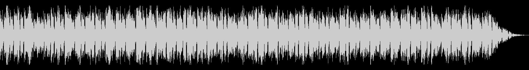 自機(キャラ選択)BGMの未再生の波形