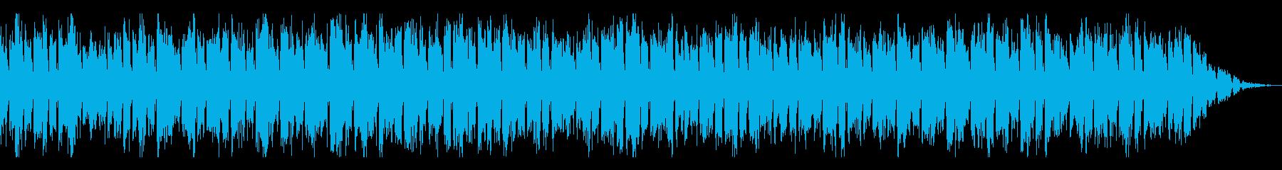 自機(キャラ選択)BGMの再生済みの波形