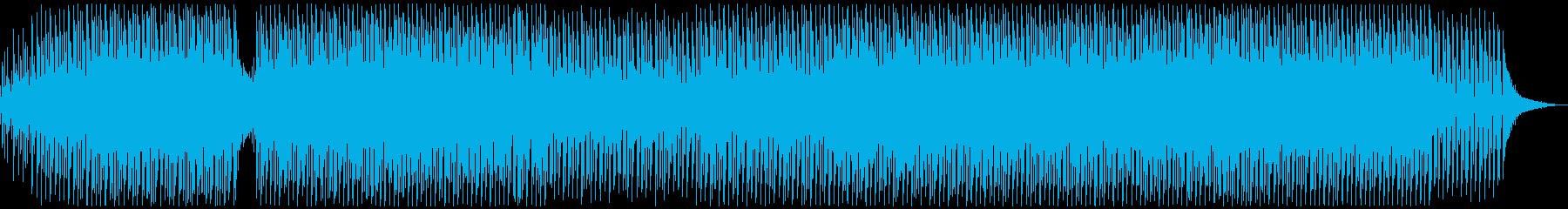 EDM、ストリングス、ギターのダン...の再生済みの波形