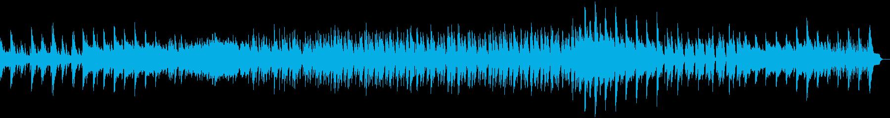 王道のポップス系ピアノソングの再生済みの波形