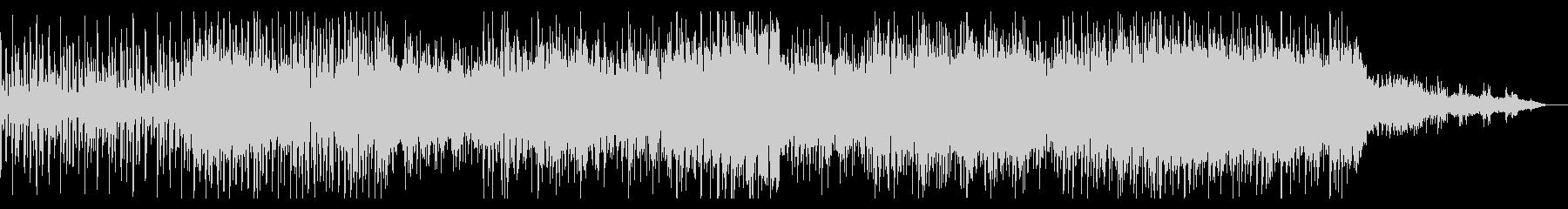 ダークで徐々に迫るアンビエントIDMの未再生の波形