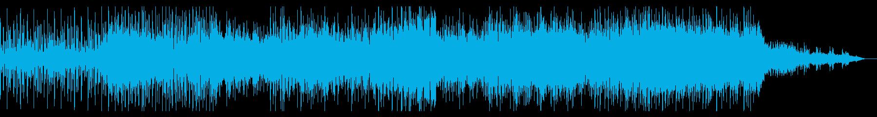 ダークで徐々に迫るアンビエントIDMの再生済みの波形