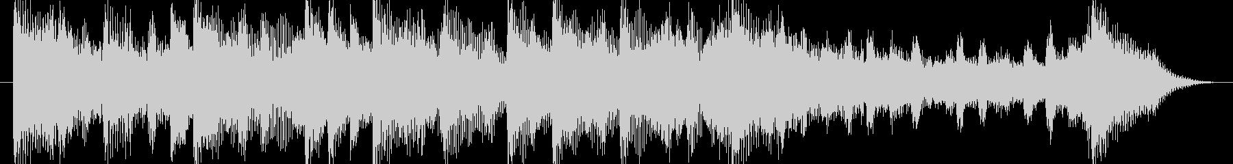 和む、でも少しクールなBGM-15秒の未再生の波形