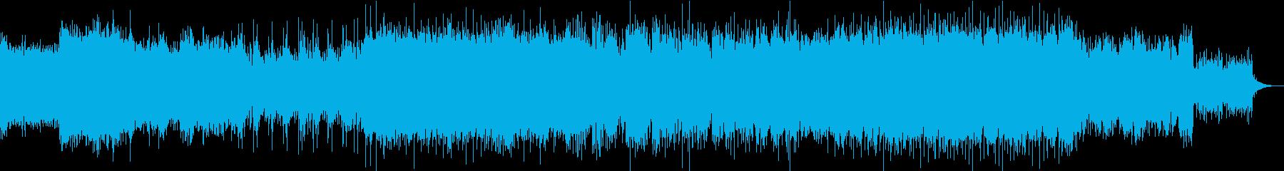 夕暮れに向かう力強いバラード・サントラの再生済みの波形
