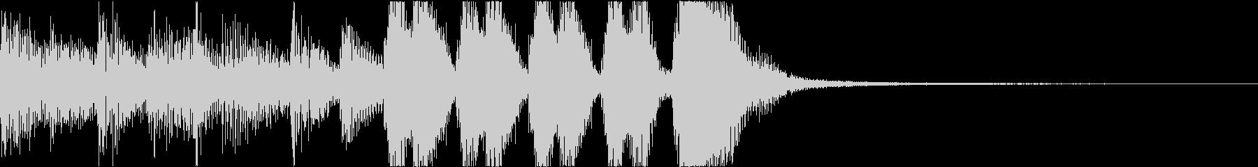 大人、都会的なイメージのファンクジングルの未再生の波形