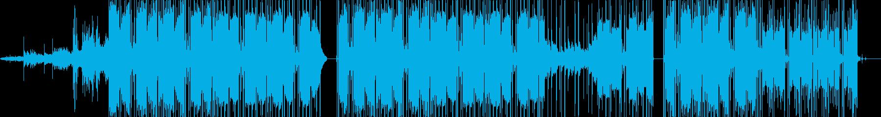 ハーモニカ&サックスソロ。バックス...の再生済みの波形