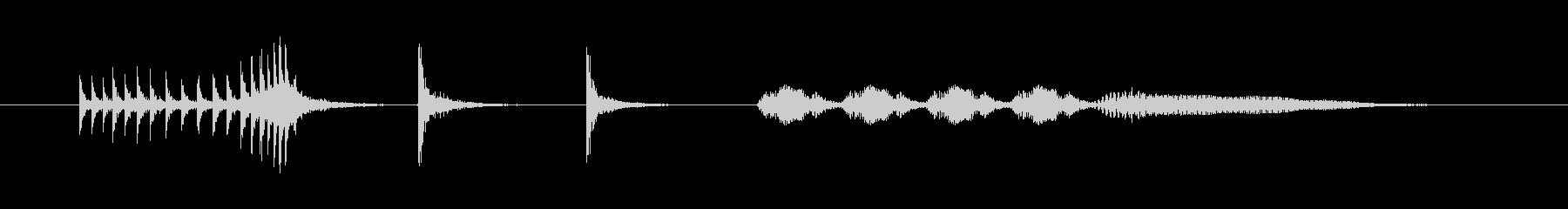 ギィーチョチョ フゴフゴ 場面転換 #2の未再生の波形