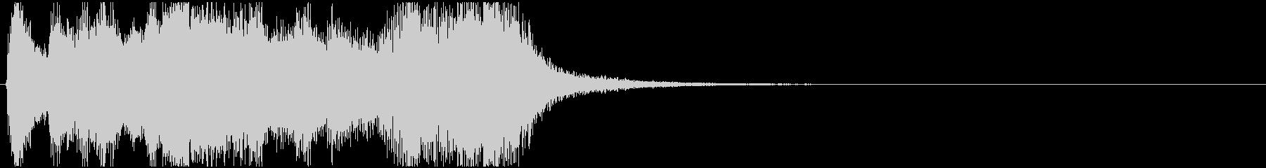 ジングル_ファンファーレ027の未再生の波形