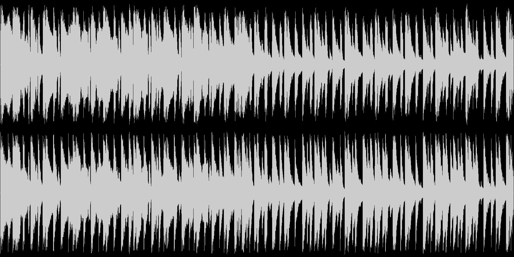 ほのぼのとした田舎の日常系BGMの未再生の波形