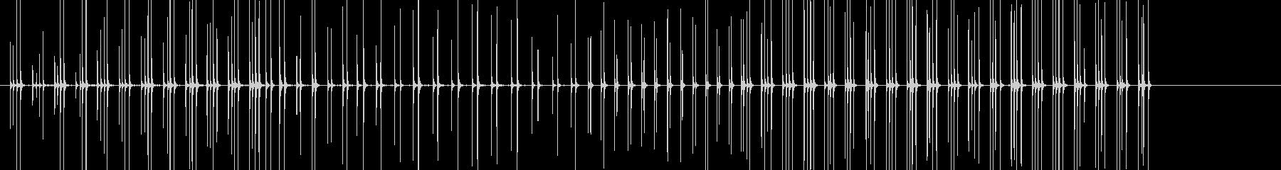 馬のギャロップ/キャンター/ギャロ...の未再生の波形