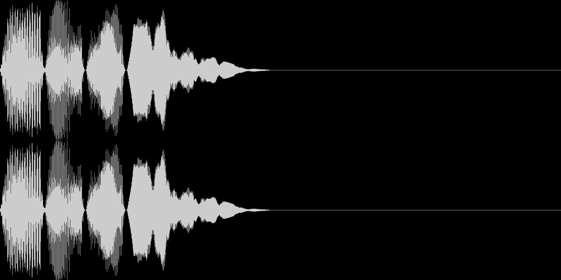 ポコン(click_031_ボタン)の未再生の波形