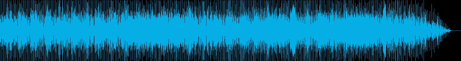 ポジティブなインストゥルメンタルリ...の再生済みの波形