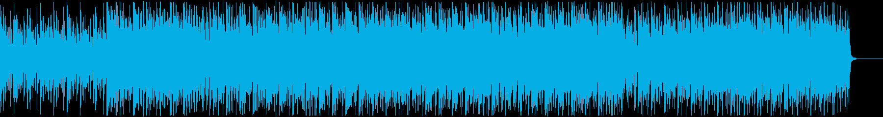 【VP向け】アップリフティング系ソングの再生済みの波形