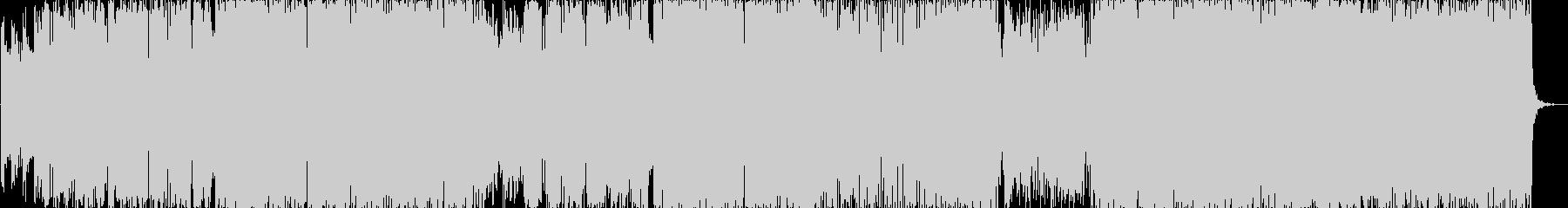 デジタルサウンドとアコギが軸のポップスの未再生の波形