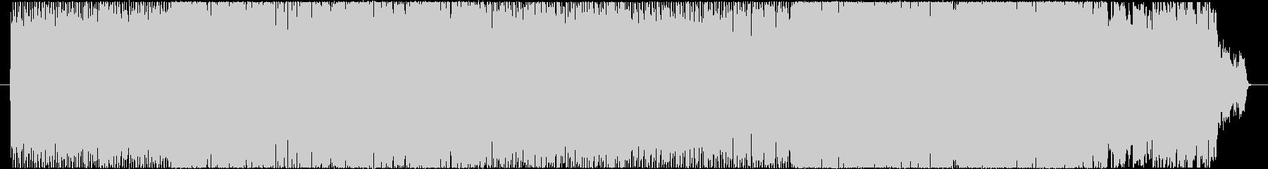 アメリカンなアッパーナンバーの未再生の波形