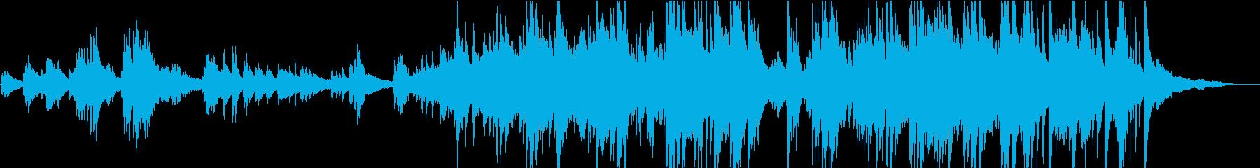 生演奏 しっとりと感動的なピアノソロの再生済みの波形
