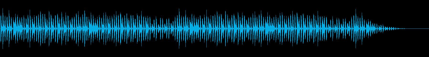童謡「かっこう」シンプルなピアノソロの再生済みの波形